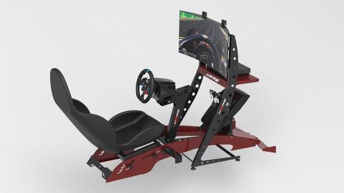 Cockpit Simulador F1 Kfire Com Suporte Para Tv