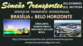 Mudanças Brasília Df X Minas Gerais Mg