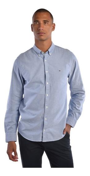 Camisa Nyfit Tommy Hilfiger Hombre Azul 867861996-474 Hombre