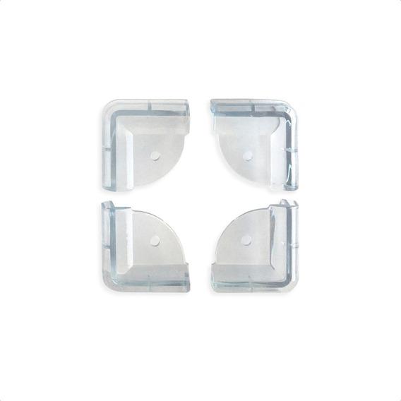 Esquineros Rectangulares Transparentes De Silicona - Baby Innovation