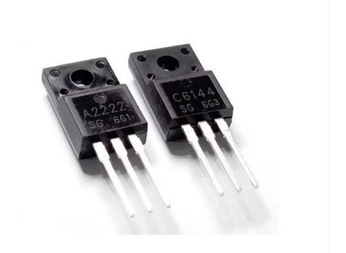2x Transistor A2222 C6144 Ou 2sa2222 2sc6144 Epson