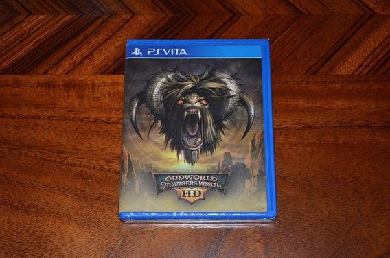 Oddworld Strangers Wrath Hd Ps Vita Limited Run