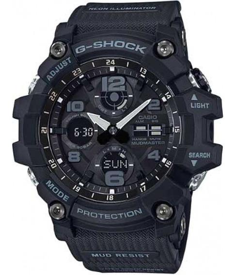 Relógio Casio G Shock Gsg 100-1 Preto Mudmaster Touch Solar