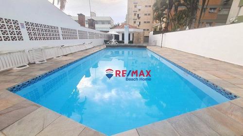 Cobertura Com 5 Dormitórios, 145 M² - Venda Por R$ 700.000,00 Ou Aluguel Por R$ 5.000,00/mês - Praia Da Enseada - Guarujá/sp - Co0304