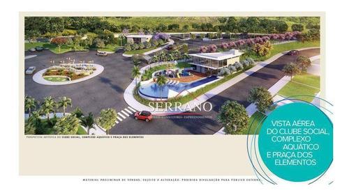 Terreno À Venda, 360 M² Por R$ 198.000,00 - Elementum Residencial Atibaia - Atibaia/sp - Te0506