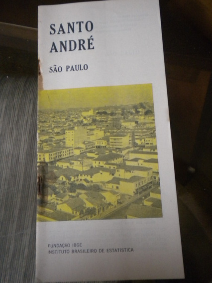Monografia Antiga Ibge Cidade Santo André Estado São Paulo
