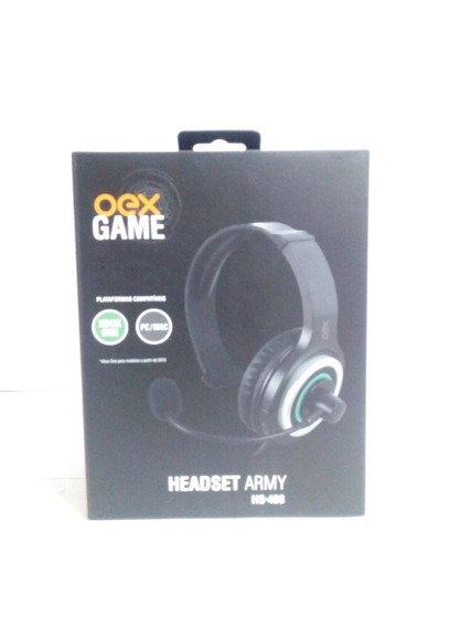 Headset Oex Army Hs408 Xbox One