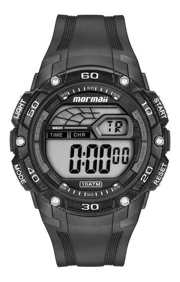 Relógio Mormaii Masculino Mod Mo9670ab/8c - Original Com Nf