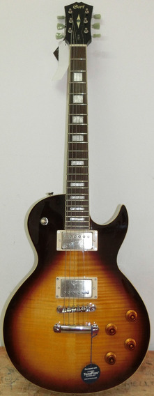 Guitarra Les Paul Cr 250 Vb Cort Saldo Cód: 315
