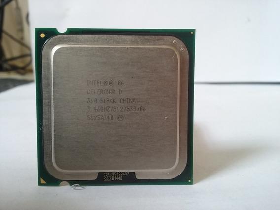 Processador Intel Celeron D 360 Sl9kk 3.46ghz/512kb/533mhz