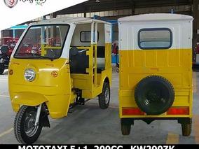 Mototaxi Motor 200 Cc Pasajeros 4+1 12 Meses