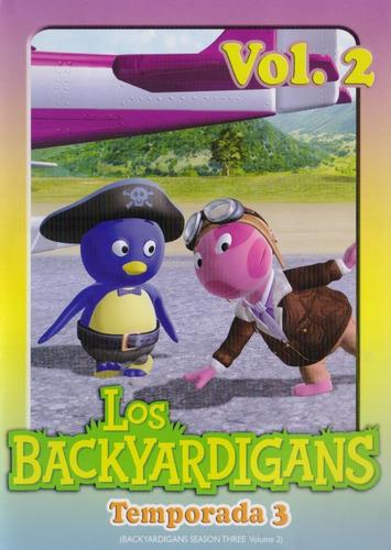Imagen 1 de 3 de Los Backyardigans Temporada 3 Tres Volumen 2 Dos Dvd