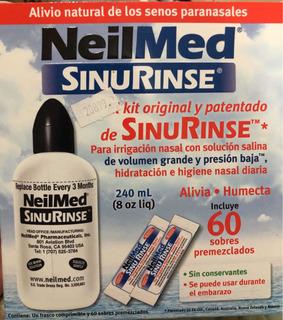 Kit Para La Irrigación Nasal