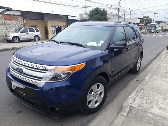 Ford Explorer 2012, 5 Puertas, Color Azul.. No Negociables