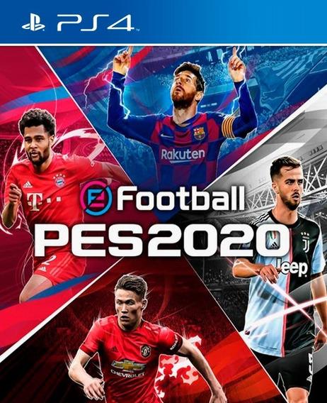 Pes 2020 Digital Ps4 + Juego Gratis