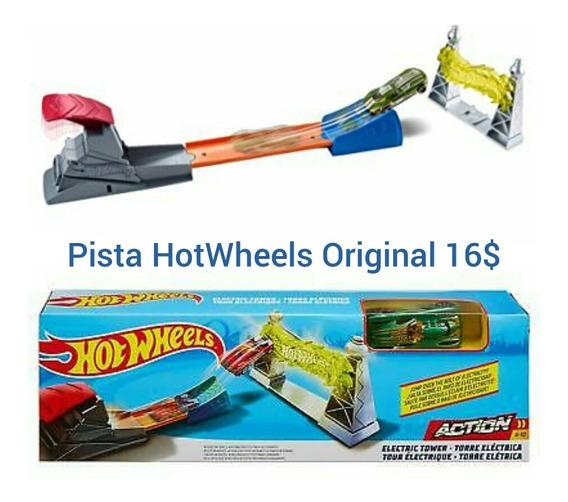 Pista Y Carro Hot Wheels Bullseye Blast Playset