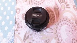 Lente 50mm 1.8 Yongnuo Para Canon - Usada