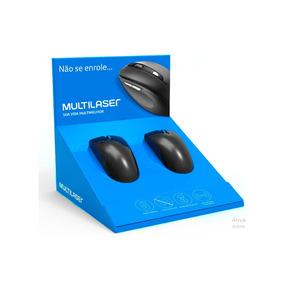 Display 2 Mouse Informatica Multilaser - Mk2017325