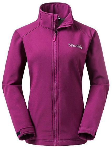 Chamarra Para Dama Termica Sport Softshell Fleece Polar