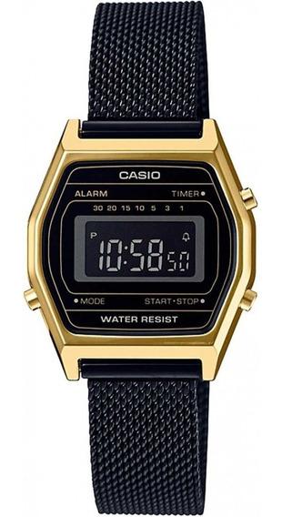 Relógio Vintage Casio La690wemb-1bdf Preto
