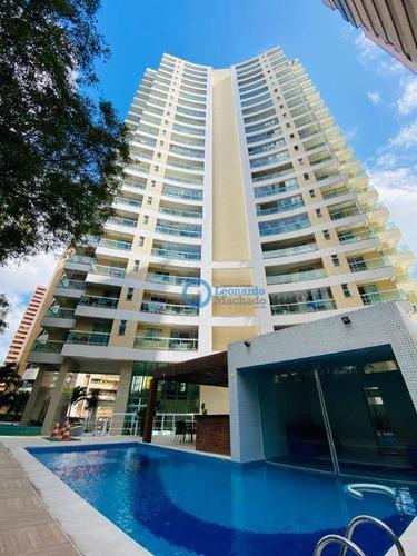 Apartamento À Venda, 118 M² Por R$ 999.000,00 - Meireles - Fortaleza/ce - Ap0797