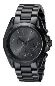 Relógio Michael Kors Mk5550 Bradshaw Black Original Eua