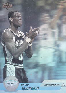 David Robinson Tarjeta Nba (holograma) Upperdeck 92-93