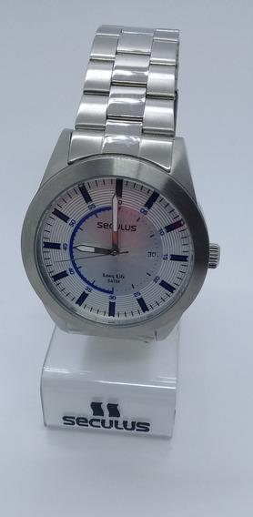 Relógio Seculus Masculino 28536gosgna1