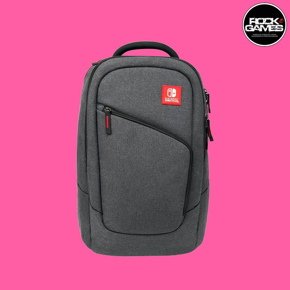 Mochila Bolsa Nintendo Switch Elite Player Backpack Oficial