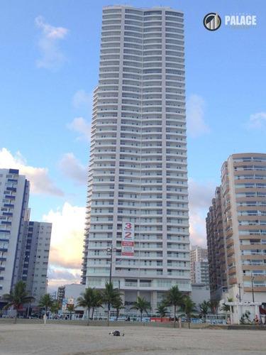 Imagem 1 de 30 de Apartamento Com 2 Dormitórios À Venda, 80 M² Por R$ 649.000,00 - Boqueirão - Praia Grande/sp - Ap2598