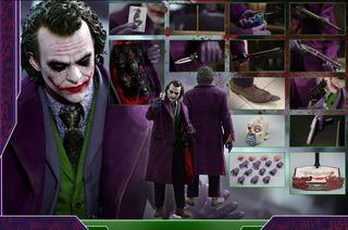 Hot Toys The Joker 1/4 Qso10 Versión Regular