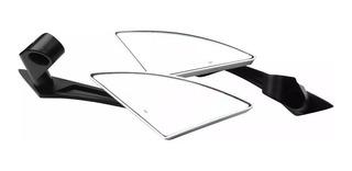 Espejo Universal Triangular Para Moto Mikels Plata Eurm-2p