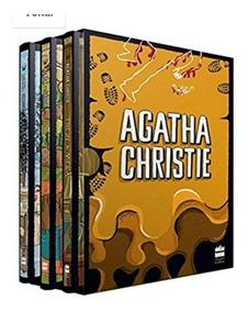 Livro Box Coleção Agatha Christie Box 6 Capa Dura De Luxo