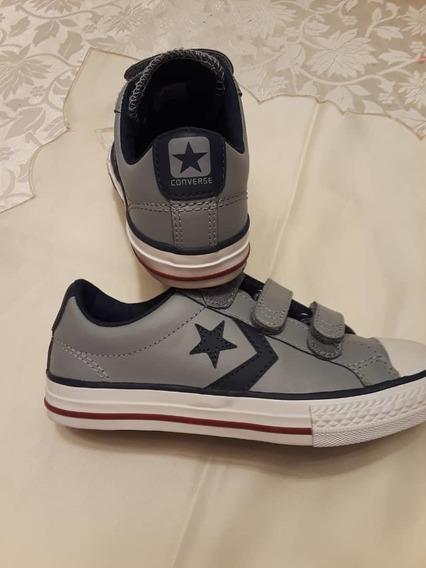 Zapatos Converse Originales Para Niños Talla 31