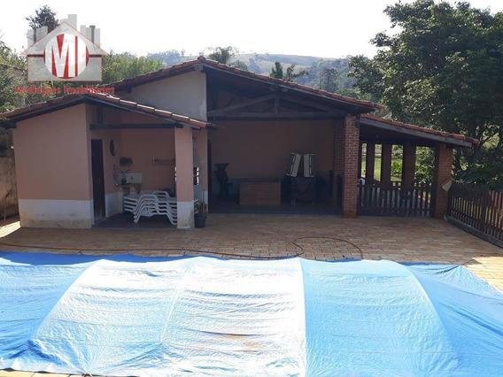 Sítio Com 01 Alqueire, 04 Dormitórios À Venda, 24000 M² Por R$ 585.000 - Rural - Socorro/sp - Si0020