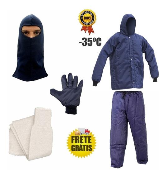 Kit Baixa Temperatura Camara Fria Blusa -calca- Maicol
