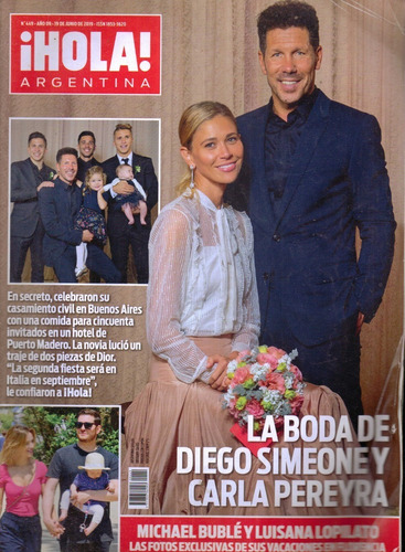Revista Hola Argentina Año 9 N 449 19 06 2019 Mercado Libre