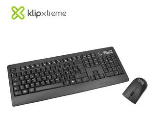 Kit Teclado + Mouse Inalambrico Klip Xtreme Inspire Kck-265s