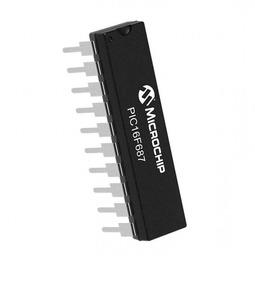 Microcontrolador Pic16f687 * I/p (lote De 5 Peças)