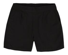 Shorts Básico Tecido Em Viscose Sarjado Hering - 324k48k V,p