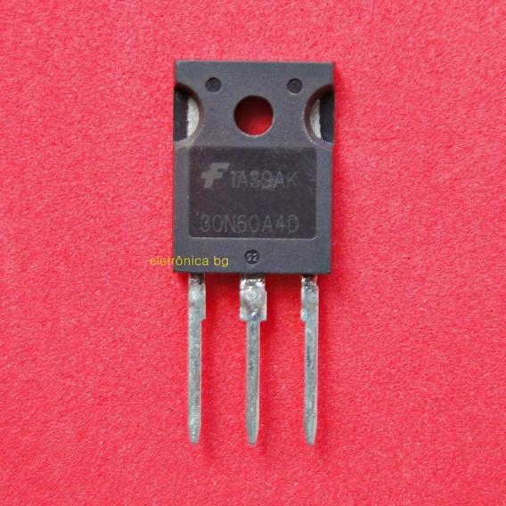 Transistor Igbt 30n60a4d Original | Frete R$12