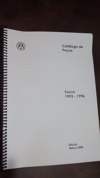 Catálogo Peças Vw Fusca Itamar + Kombi Clipper - Impresso