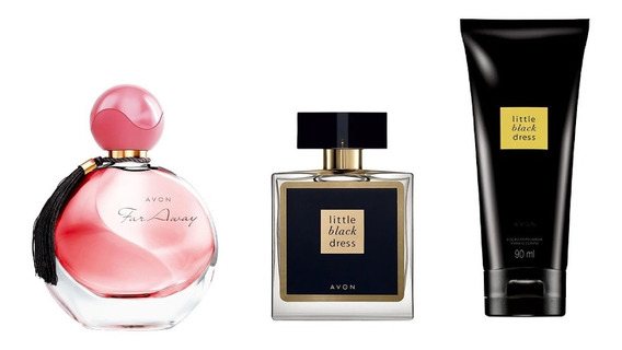 Combo Perfumes Femininos Avon Far Away + Little Black Dress