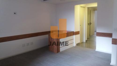Edifício Estilo Moderno, 5 Salas, 5 Vagas, Portaria 24, Próoximo À Avenida Paulista! - Bi4045
