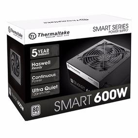 Fonte 600w Tt Smart Atx2.3 A-pfc 80+white Ps-spd-0600npcwbz-