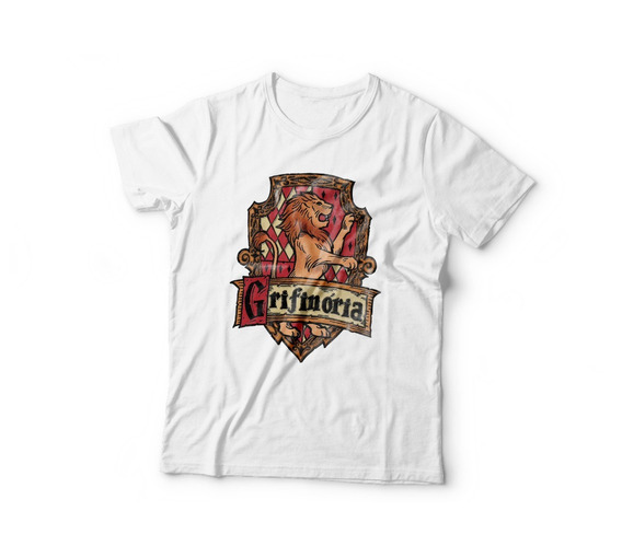 Camiseta Harry Potter - 100% Poliéster Manga Curta