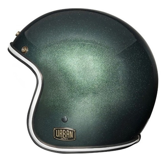 Capacete Urban Helmets Flake Verde Escuro
