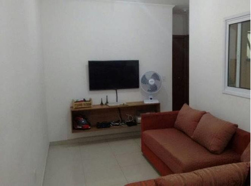 Cobertura Com 2 Dormitórios, 88 M² - Venda Por R$ 365.000,00 Ou Aluguel Por R$ 1.750,00/mês - Vila Alice - Santo André/sp - Co1230