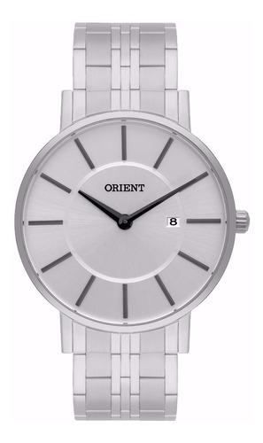 Relógio Orient Masculino Eternal Slim Mbss1261 S1sx Oferta