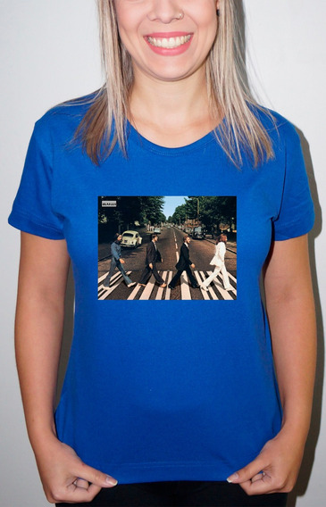 Baby Look Ou Camiseta The Beatles